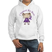 Alzheimers Support Mom Hoodie