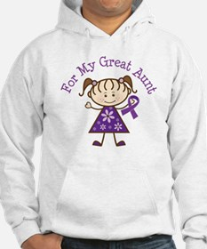 Alzheimers Support Great Aunt Hoodie