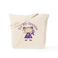 Alzheimers Support Grandpa Tote Bag