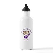 Alzheimers Support Pop-Pop Water Bottle