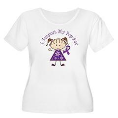Alzheimers Support Pop-Pop T-Shirt