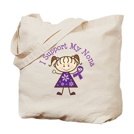 Alzheimers Support Nona Tote Bag