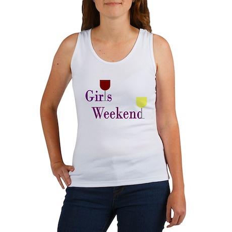 Girls Weekend Wine Women's Tank Top
