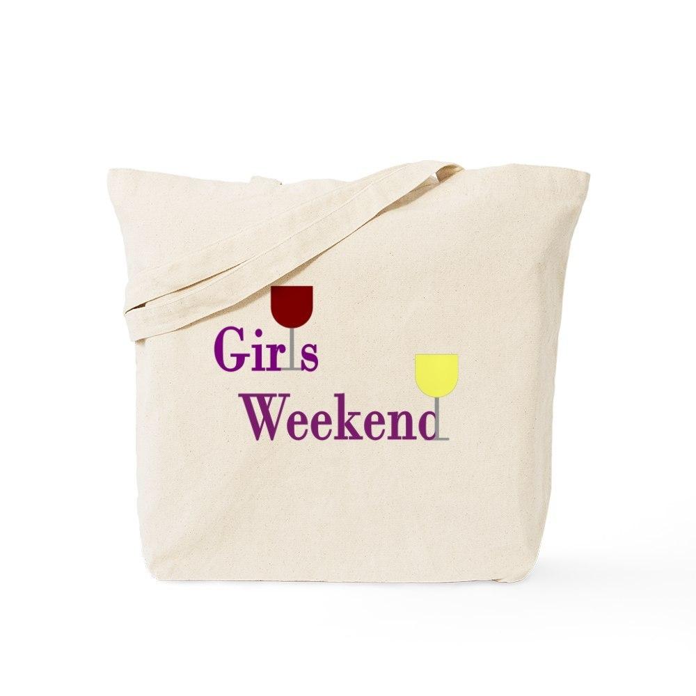 CafePress Girls Weekend Wine Tote Bag