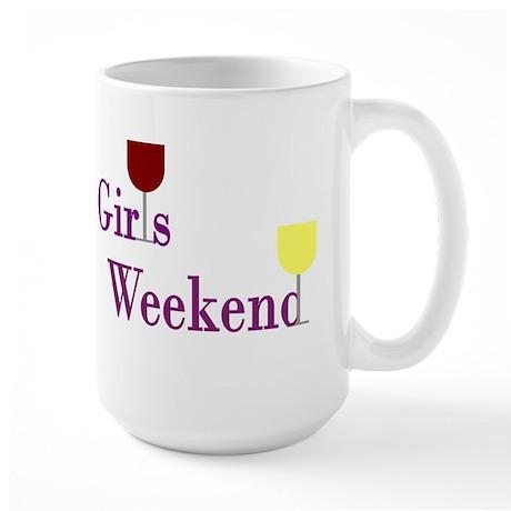 Girls Weekend Wine Large Mug