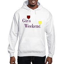 Girls Weekend Wine Hoodie