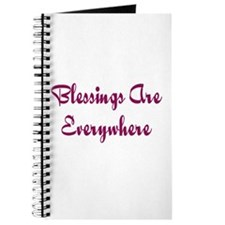 Blessings Are Everywhere Journal