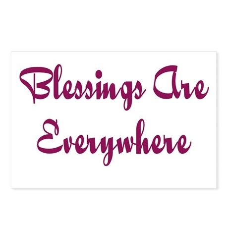 Blessings Are Everywhere Postcards (Package of 8)