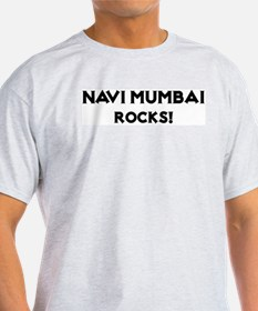 Navi Mumbai Rocks! Ash Grey T-Shirt
