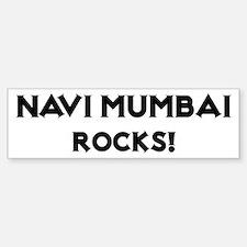 Navi Mumbai Rocks! Bumper Bumper Bumper Sticker