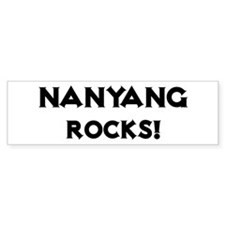 Nanyang Rocks! Bumper Bumper Sticker