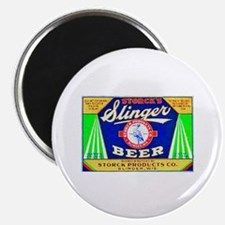 Wisconsin Beer Label 12 Magnet
