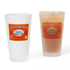 Michigan Beer Label 12 Drinking Glass