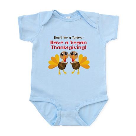 Vegan Thanksgiving Infant Bodysuit