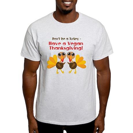 Vegan Thanksgiving Light T-Shirt