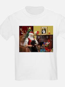 Santa's Poodle (ST-B4) T-Shirt