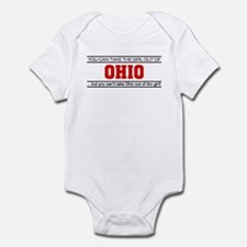 'Girl From Ohio' Infant Bodysuit