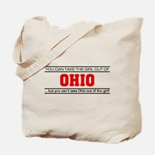 'Girl From Ohio' Tote Bag