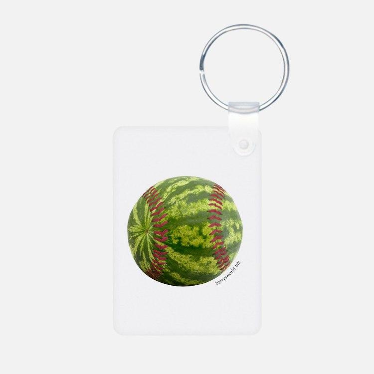 Baseball Melon Keychains