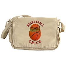 Basketball Chick 2 Messenger Bag