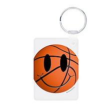 Basketball Smiley Keychains