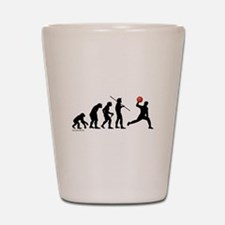Dodgeball Evolution Shot Glass