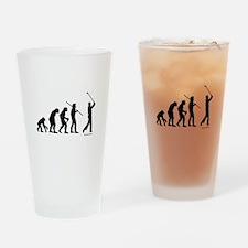 Golf Evolution Drinking Glass