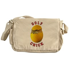 Golf Chick 2 Messenger Bag