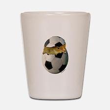 Soccer Chick Shot Glass