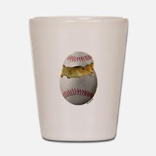 Softball Chick Shot Glass