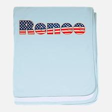 American Renee baby blanket