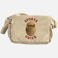 Volleyball Chick 3 Messenger Bag
