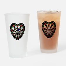 Dart Love 2 Drinking Glass
