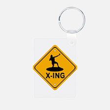 Shot Put X-ing Keychains