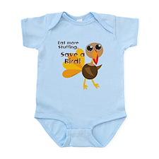 Save a Turkey Infant Bodysuit