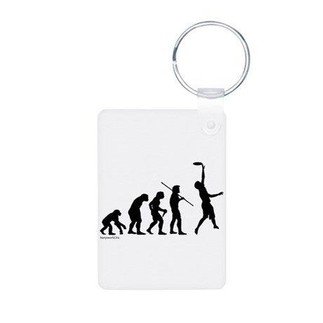 Ultimate Evolution Aluminum Photo Keychain