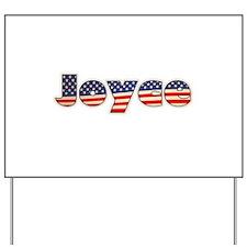 American Joyce Yard Sign