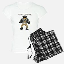 Rottweiler Wrestling Champ Pajamas