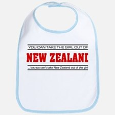 'Girl From New Zealand' Bib
