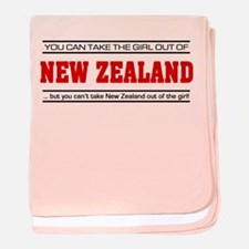 'Girl From New Zealand' baby blanket