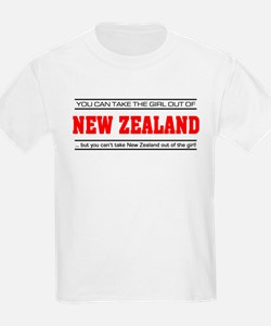 'Girl From New Zealand' T-Shirt