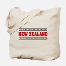'Girl From New Zealand' Tote Bag