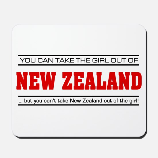 'Girl From New Zealand' Mousepad