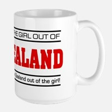 'Girl From New Zealand' Mug