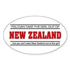 'Girl From New Zealand' Decal