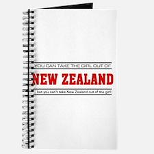 'Girl From New Zealand' Journal
