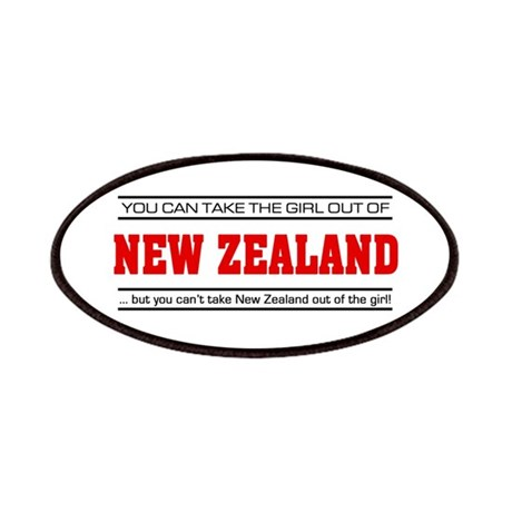 'Girl From New Zealand' Patches
