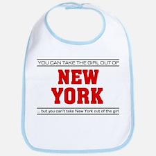 'Girl From New York' Bib
