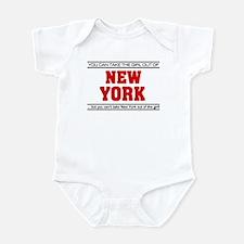 'Girl From New York' Infant Bodysuit