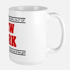 'Girl From New York' Large Mug